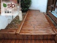 کف پوش پله چوبی