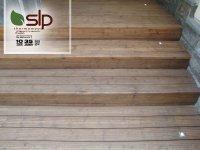 کف پوش پله چوبی ترموو