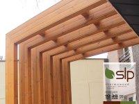 پرگولا چوبی